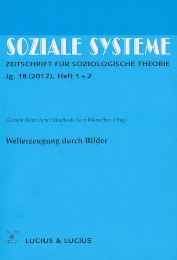 Soziale Systeme 2012, Jg. 18(1+2)