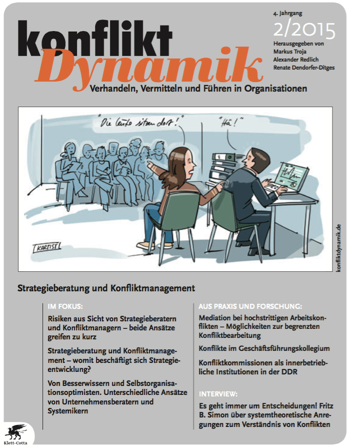 Konfliktdynamik 4(2): 2015