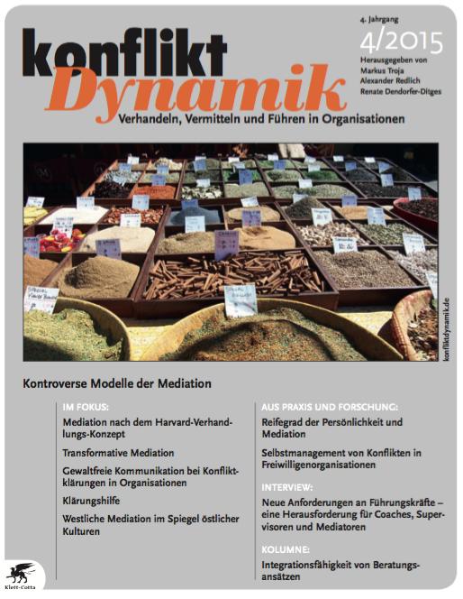 Konfliktdynamik 4(4) - 2015