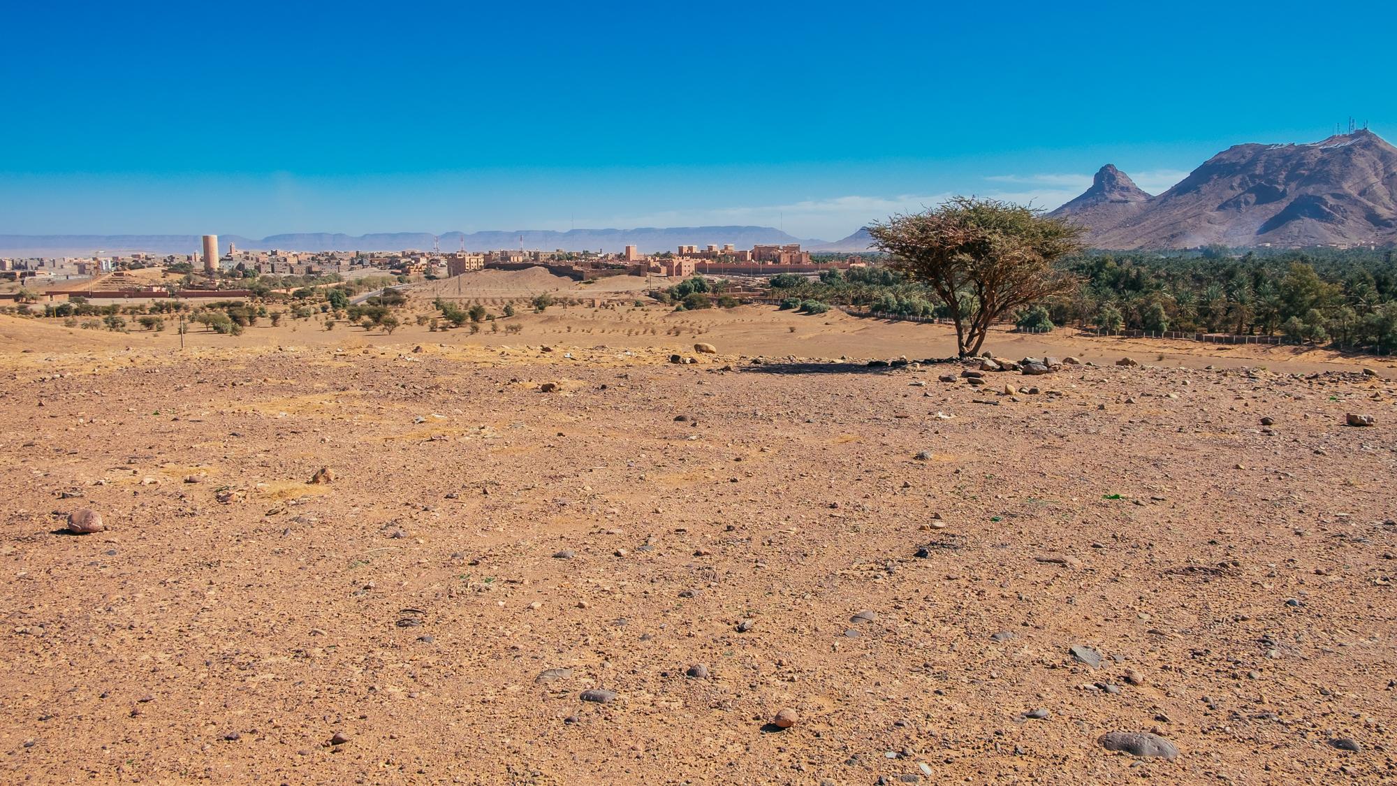 Zagora am Rande der Wüste
