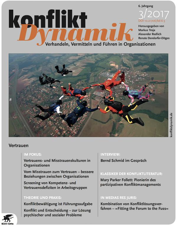 Konfliktdynamik 3/2017